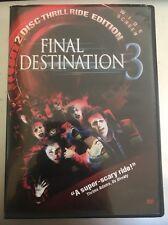 Final Destination 3 (DVD, 2006, 2-Disc Set, Widescreen; Special Edition)