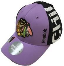 Chicago Blackhawks Reebok NHL Hockey Fights Cancer Hat Cap L/XL