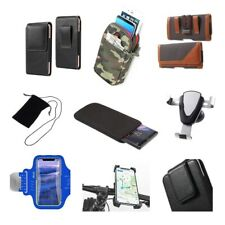 Accessories For Micromax A27, Ninja: Sock Bag Case Sleeve Belt Clip Holster A...