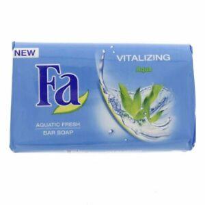 Fa Vitalizing Aquatic Fresh Bar Soap Care for your skin, even when washing. 125g