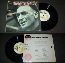 LE PERE Duval - Histoire de Noel French LP 10' 25CM Bel Air