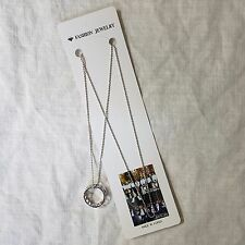 Monsta X Necklace Chain with Ring Pendant KPOP Star Gift New