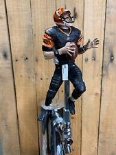 CINCINNATI BENGALS Tap Handle Carson Palmer Beer Keg NFL FOOTBALL Black Jersey