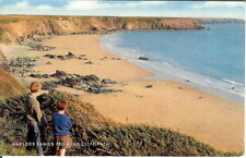 Wales: Marloes Sands from the Cliff Path - Unposted c.1970's