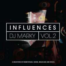 DJ MARKY ‎– INFLUENCES VOL. 2 2x VINYL LP (NEW/SEALED)