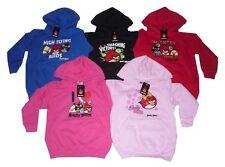 BOYS & GIRLS HOODIE KIDS HOODY TOP JUMPER ANGRY BIRDS 5-14 YEARS