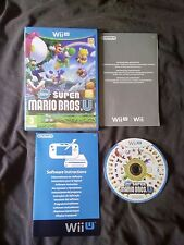 New Super Mario Bros U - Nintendo WII U - Edicion Española Como Nuevo