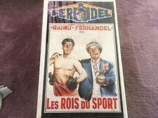 VHS Les Rois du sport Fernandel Raimu