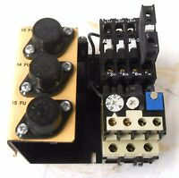 ABB B9 CONTACTOR AND OVERLOAD RELAY T25 DU, 600 VOLTS, 21 AMPS, 64407018F