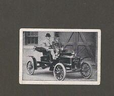 15/806 sammelbild vecchia tecnica AUTO FORD-carrello Henry Ford su automobilistica Usa