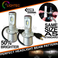 NEW! SUPER SLIM LED CONVERSION CAR HEADLIGHT BULBS KIT 5700K XENON WHITE V10