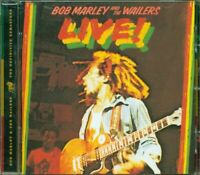 Bob Marley & The Wailers - Live! Remastered Cd Eccellente
