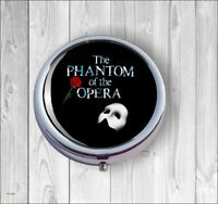 Phantom of the Opera PILL BOX ROUND METAL - bnh6Z