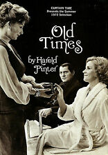 "Harold Pinter ""OLD TIMES"" Robert Shaw / Rosemary Harris 1972 Book Club Flyer"