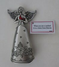 b When you see cardinal it is Visitor from Heaven Angel of Eternal Love FIGURINE