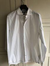 tommy hilfiger white stretch shirt - XL- 42/44