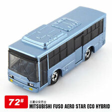 Tomica Japan Diecast Car 072 MITSUBISHI FUSO Aero Star Eco Hybrid Bus ( 7cm)
