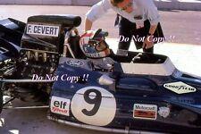 Francois Cevert Elf Tyrell 002 Winner USA Grand Prix 1971 Photograph 9