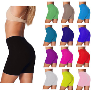 Women's Ladies Cycling Shorts Cotton Stretchy Lycra  Active comfy Sport  Legging