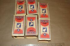 Lot of 6 Kenrad Ken-Rad 115-125V 40W Light Bulb RED NOS New Old Stock! L@@K!