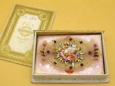 Keepsake Card Christening 1878 Anna Pohl Keepsake Christening Cards Box [Black]