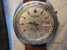 Seiko Automatic Bell-Matic Alarm Wrist Watch ca. 1969- NO RESERVE