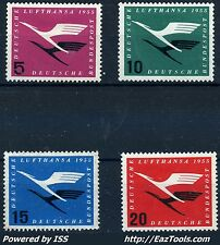 ALLEMAGNE FEDERALE SERIE N° 81/84 NEUF * AVEC CHARNIERE