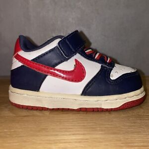 ⭐️ Nike Dunk Mid SUPREME 4c 🔴 Toddler Baby Shoes 🔵 Travis Scott Jordan