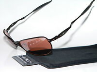 OAKLEY CROSSHAIR S WIRE BROWN BLACK PILOTENBRILLE SQUARE DEVIATION INMATE FELON