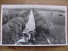 COTE D OR canal Marne a la Saone PONTAILLER photo aerienne 27 X 45 cm LAPIE