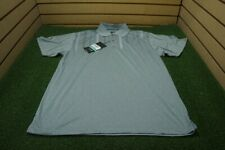 NEW Page & Tuttle Golf Cool Swing Polo Mens Size Large Grey  Clothing