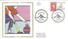 1991  PREMIER JOUR JEUX OLYMPIQUES ALBERTVILLE CURLING