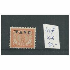 Ned. Indië 67f  JAVA Kopstaand  MNH/postfris   CV 90 €
