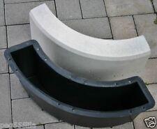 Randstein Form Nr.383,  Rundbogen 90 °- Schalungsform Gießform zum selber machen