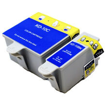 2 Ink Cartridges For Kodak 10 Office 6150 HERO 7.1 9.1 6.1 ESP 3250 5210 TJ