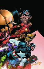 Avengers #500 Cover Poster by David Finch NEW SEALED
