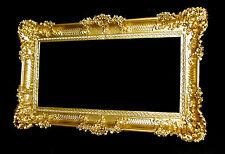 Cornice per foto oro barocco gemälderahmen 97x57 CORNICE DECORATA ANTICO cornici