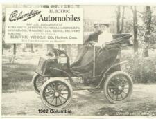 1902 Columbia Electric Auto Refrigerator Magnet