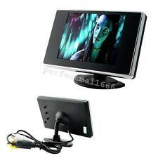 USA 3.5 Inch LCD Car Rear View Rearview Monitor With Stand Reverse Backup Camera