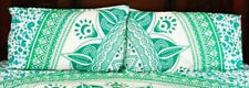 "Set-2 Indian Pure Cotton Handmade Star Mandala 18X28"" Bed Pillow Cover Ethnic"