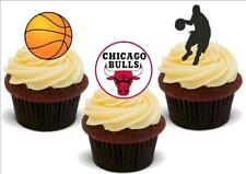 Basketball Chicago Bulls Mix Stand Up Premium Card Cake Toppers