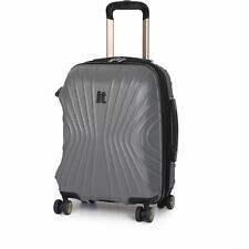 IT Luggage Secure-It Small 8 Wheel Suitcase - Grey