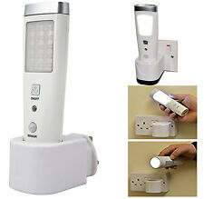20 Led Night Light Torch Rechargeable Emergency Motion Sensor Power Cut Safety