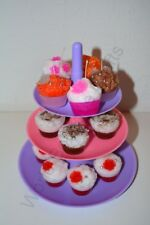 Personalised Cupcake Candle Making Kit:Wax,Mold,Wicks,Dyes,2 Scents,Wax Cherries
