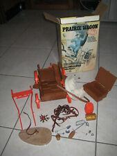 """Marx """"Prairie wagon"""" (années 60) TTBE + boite"""