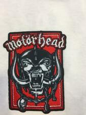 More details for official licensed - motorhead - warpig in red patch lemmy metal new import