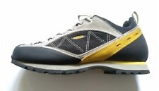 Asolo Lady's Grey and yellow Graphite Shoes Sz US 9/UK 7.5 EUR 41