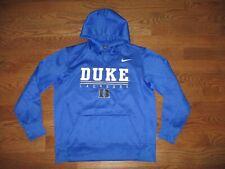 New listing Mens Duke Blue Devils Dri-Fit Lacrosse Nike Therma Hoodie Sweatshirt Sz. M