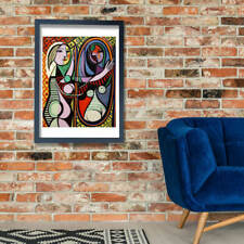 Pablo Picasso - Girl Before Mirror Wall Art Poster Print