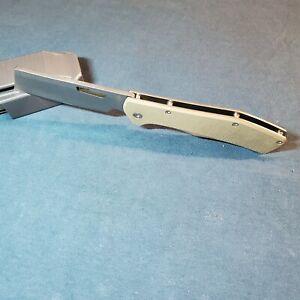 "GERBER FLAT IRON FOLDING POCKET KNIVE ROBUST&STURDY FRAME&BLADE,3.7""L&3/16""THICK"